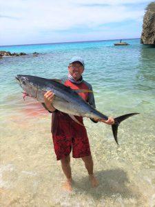 12 tuna curacao fishing
