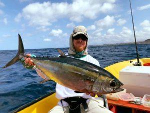 7 tuna curacao fishing